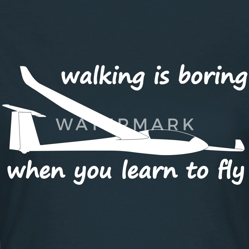 when you learn to fly T-shirts - Vrouwen T-shirt