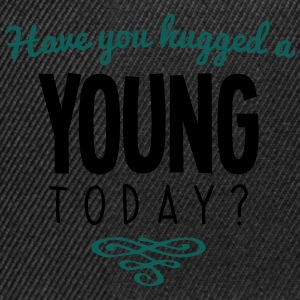 have you hugged a young name today - Snapback Cap