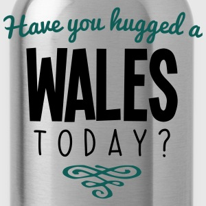 have you hugged a wales name today - Water Bottle