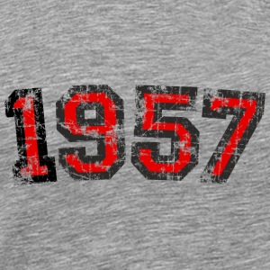 Year 1957 Birthday Vintage Tops - Men's Premium T-Shirt