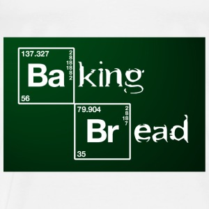Baking Bread.jpg  Aprons - Men's Premium T-Shirt