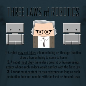 Three Laws of Robotics - Maglietta da uomo