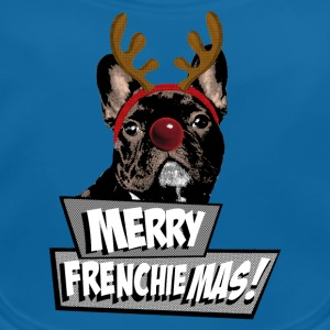 AD Merry FrenchieMas! T-shirts - Ekologisk babyhaklapp