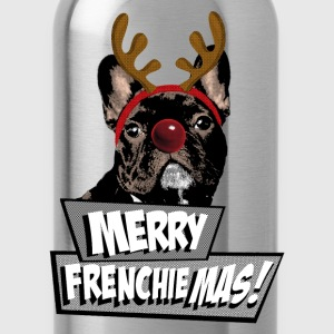AD Merry FrenchieMas! Shirts - Drinkfles