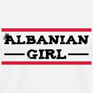 albanian_girl_with_eagle Pullover & Hoodies - Männer Premium T-Shirt