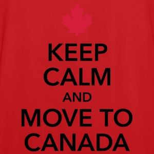 keep calm and move to Canada Maple Leaf Kanada - Männer Fußball-Trikot
