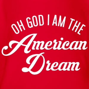 Oh God i am the American Dream Langarmshirts - Baby Bio-Kurzarm-Body
