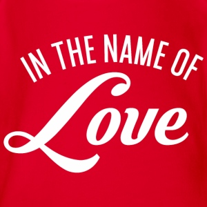 In the name of Love Langarmshirts - Baby Bio-Kurzarm-Body