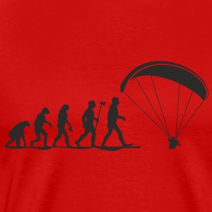 evolution paragliding Long Sleeve Shirts - Men's Premium T-Shirt