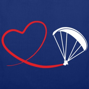 love paragliding Pullover & Hoodies - Stoffbeutel