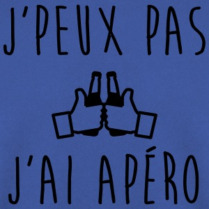J'peux pas j'ai apéro - humour citations - Sweat-shirt Homme