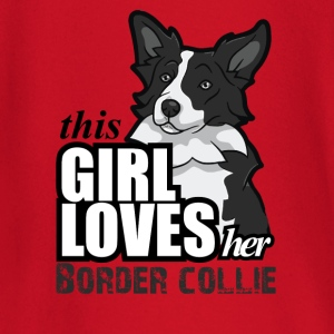 this girl loves her border T-Shirts - Baby Long Sleeve T-Shirt
