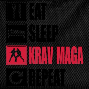 Eat-Sleep-KravMaga-Repeat T-skjorter - Ryggsekk for barn