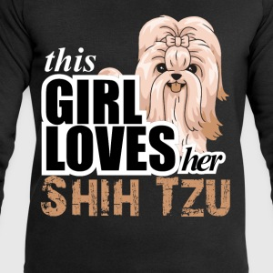 This Girl Loves Her Shih Tzu T-Shirts - Men's Sweatshirt by Stanley & Stella