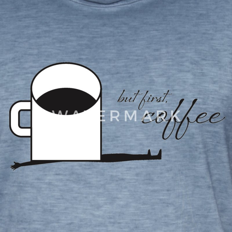 Cup of coffee - Männer Vintage T-Shirt
