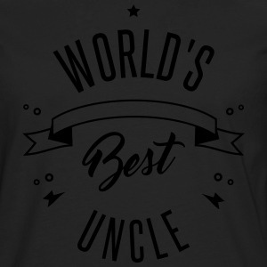 WORLD'S BEST UNCLE - Männer Premium Langarmshirt