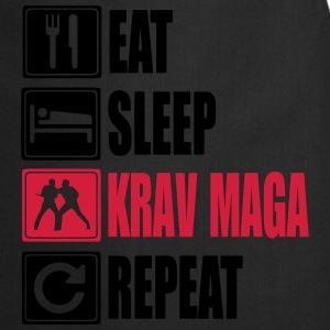 Eat-Sleep-KravMaga-Repeat Tee shirts - Tablier de cuisine