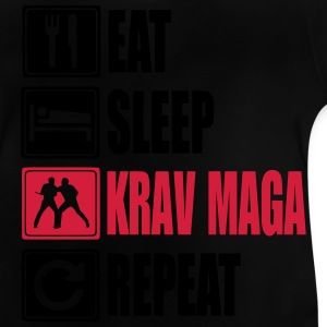 Eat-Sleep-KravMaga-Repeat Skjorter - Baby-T-skjorte
