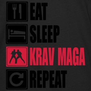 Eat-Sleep-KravMaga-Repeat Sweat-shirts - T-shirt manches longues Premium Homme