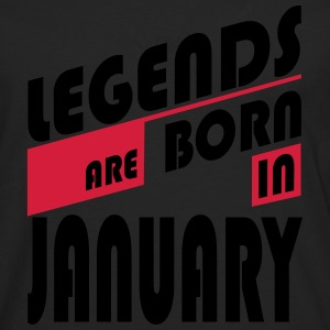 Legends January T-Shirts - Men's Premium Longsleeve Shirt