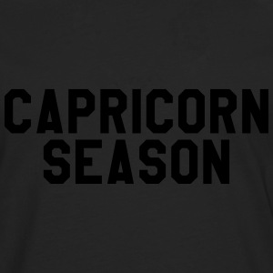 Capricorn season T-Shirts - Men's Premium Longsleeve Shirt