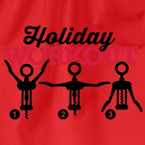 Holiday workout corkscrew T-shirts - Gymtas