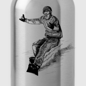snowboarding T-Shirts - Water Bottle