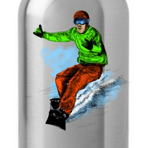 snowboarding Shirts - Water Bottle