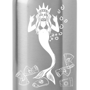 Mermaid  angry about Xmas / Meerjungfrau verärgert T-Shirts - Trinkflasche