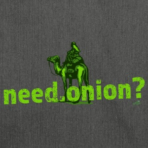 need.onion T-Shirts - Schultertasche aus Recycling-Material