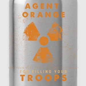 Agent orange not your best  defoliant but it's gre - Water Bottle