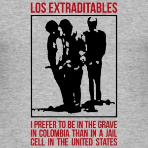 Los Extraditables (eng) Sweat-shirts - Tee shirt près du corps Homme