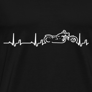 Heartbeat - Chopper Sweatshirts - Herre premium T-shirt