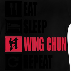 Eat-Sleep-WingChun-Repeat Camisetas - Camiseta bebé