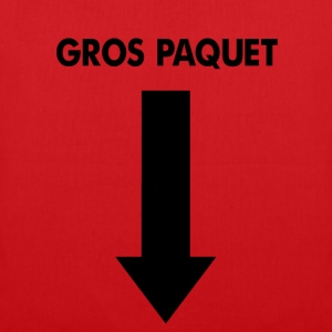 T-shirt Rouge Gros Paquet - Tote Bag