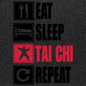 Eat-Sleep-Tai Chi-Repeat T-Shirts - Snapback Cap