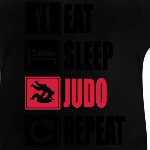Eat-Sleep-Judo-Repeat Camisetas - Camiseta bebé
