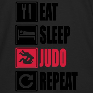 Eat-Sleep-Judo-Repeat Sweat-shirts - T-shirt manches longues Premium Homme