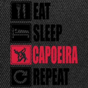 Eat-Sleep-Capoeira-Repeat Felpe - Snapback Cap