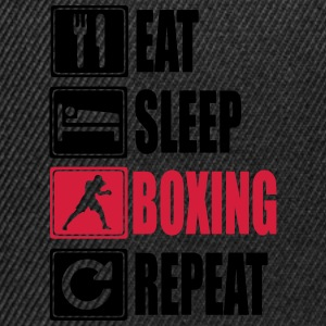 Eat-Sleep-Boxing-Repeat Tröjor - Snapbackkeps