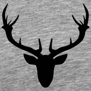 antlers Tops - Men's Premium T-Shirt