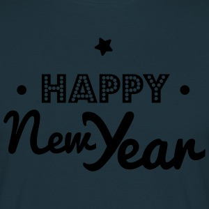 happy new year  Aprons - Men's T-Shirt