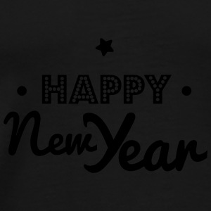 happy new year Kepsar & mössor - Premium-T-shirt herr
