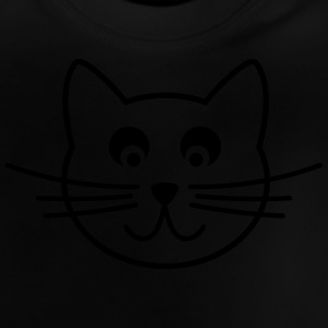 Katze Outline Pullover & Hoodies - Baby T-Shirt