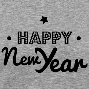 happy new year Langærmede shirts - Herre premium T-shirt