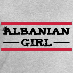 albanian_girl_with_eagle T-Shirts - Männer Sweatshirt von Stanley & Stella