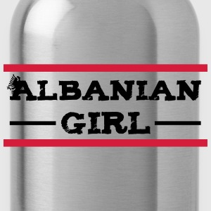 albanian_girl_with_eagle T-Shirts - Trinkflasche
