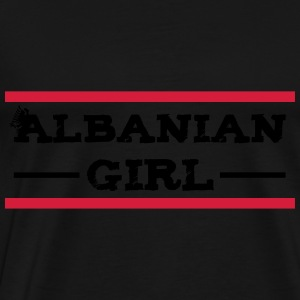 albanian_girl_with_eagle Tops - Männer Premium T-Shirt
