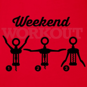 Weekend workout corkscrew Borse & Zaini - Body ecologico per neonato a manica corta
