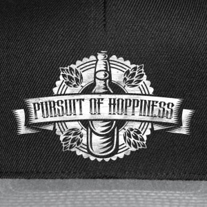 Pursuit of Hoppiness Bier Brauen Brauerei T-Shirts - Snapback Cap